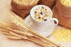 シリカ含有量の多い穀物
